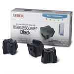 108R00726 - Pack of 3 BLACK XEROX ink sticks for Phaser 8560 (3,400 pages)