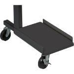 MooreCo 89849-B CPU holder Desk stand CPU holder Black