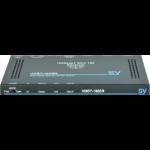 SY Electronics SY-HDBT-100-SLIM-R AV extender AV receiver Black