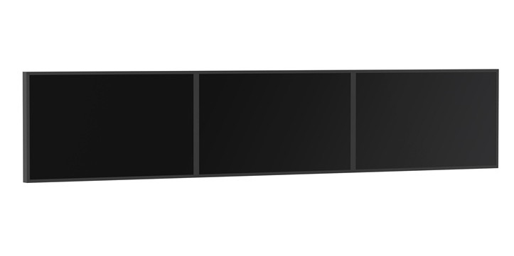 "SMS Smart Media Solutions PW010010 82"" Aluminium,Black flat panel wall mount"