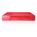 WatchGuard Firebox T10 + 1Y Total Security Suite (UK) 400Mbit/s hardware firewall