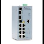 Allied Telesis AT-IFS802SP / POE (W) -80 Managed Gigabit Ethernet (10/100/1000) Grey Power over Ethernet (PoE)