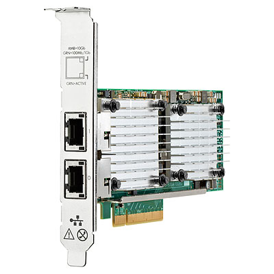 Hewlett Packard Enterprise 656596-B21 adaptador y tarjeta de red Ethernet 10000 Mbit/s Interno
