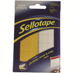 Sellotape E STICKY HOOK AND LOOP PAD WLT24