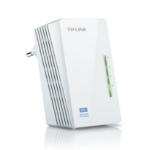 TP-LINK TL-WPA4220 500Mbit/s Ethernet LAN connection Wi-Fi White 1pcs PowerLine network adapter