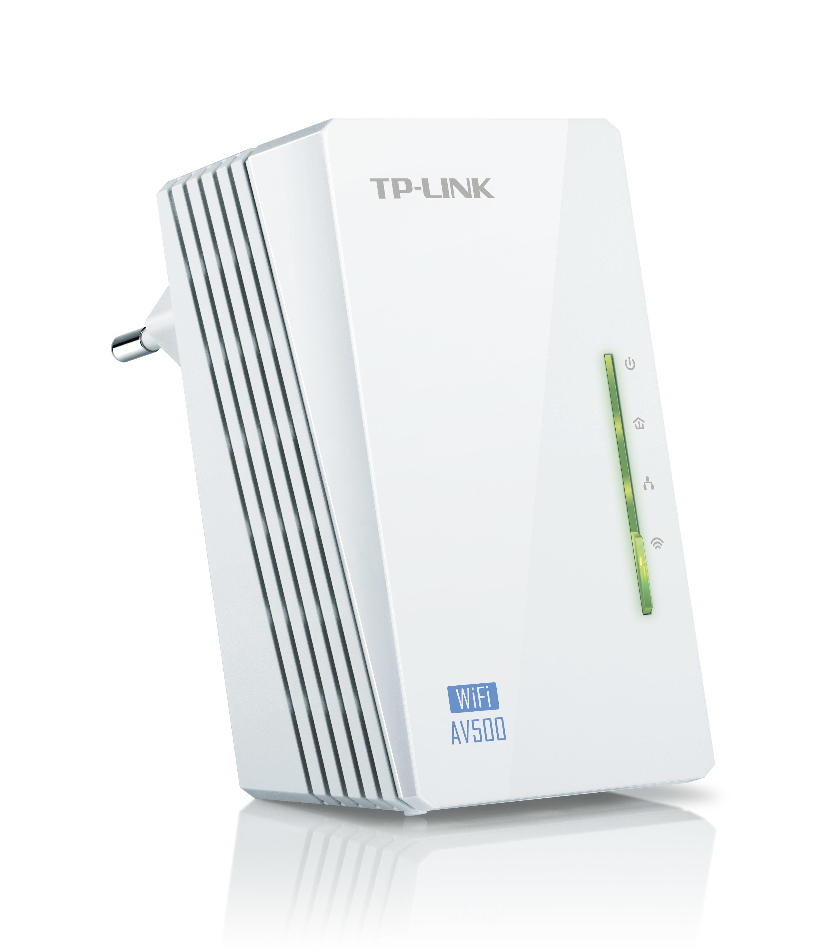 TP-LINK (TL-WPA4220) 300Mbps AV500 Wireless N Powerline Adapter Single