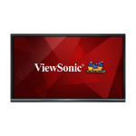 "Viewsonic IFP8650 Digital signage flat panel 86"" LCD 4K Ultra HD Black signage display"