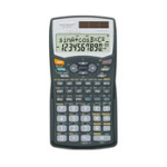 Sharp EL-506WBBK Pocket Scientific Black calculator