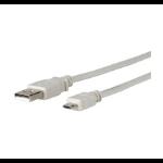 Microconnect 0.6m USB A - MicroUSB B 0.6m USB A Micro-USB B Male Male Grey USB cable