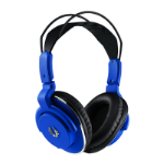 BitFenix Flo Blue Circumaural Head-band headphone