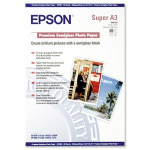 Epson Premium Semigloss Photo Paper, DIN A3+, 250g/m², 20 Sheets C13S041328