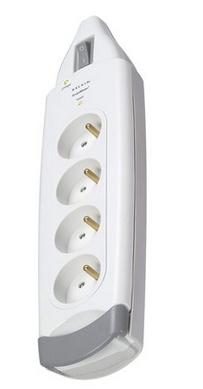 Belkin B2E016DE2M surge protector 4 AC outlet(s) 2 m White