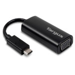 Targus ACA934EUZ video cable adapter 0.17 m USB C VGA (D-Sub) Black