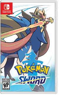 Nintendo Pokemon Sword, Switch Basic Nintendo Switch