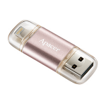Apacer AH190 64GB 64GB USB 3.1 (3.1 Gen 2) Type-A Gold,Pink USB flash drive