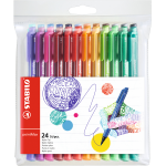 Stabilo pointMax Green,Light Green,Orange,Pink,Purple,Red,Yellow 24pc(s) fineliner
