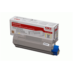 OKI 43872305 Toner yellow, 2K pages @ 5% coverage
