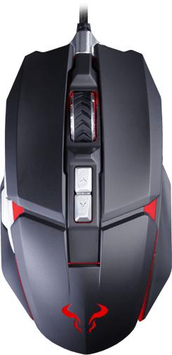 Riotoro Aurox Prism RGB mouse USB Optical 10000 DPI Right-hand
