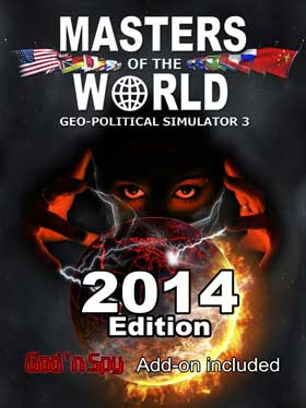 Nexway 789691 video game add-on/downloadable content (DLC) Video game downloadable content (DLC) PC Masters Of The World Geo Political Simulator 3 Español