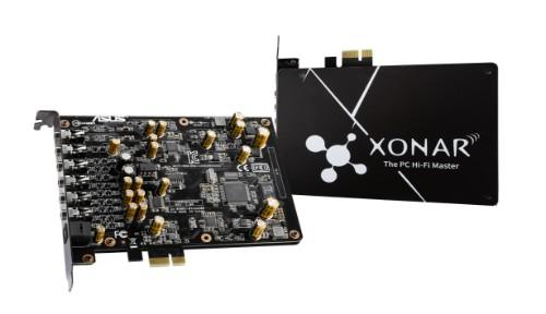ASUS Xonar AE Internal 7.1 channels PCI-E