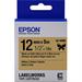 Epson C53S654001 (LK-4KBK) Ribbon, 12mm x 9m