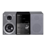 Panasonic SC-PM602 Home audio micro system 40W Silver