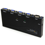 StarTech.com 4 Port High Resolution VGA Video Splitter - 350 MHz