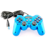 Sabrent USB-GAMEPAD Gamepad PC Blue gaming controller