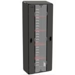Zebra CS-CAB-5XL rack cabinet Freestanding rack Black