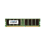 Crucial 1GB DDR UDIMM 1GB DDR 333MHz memory module