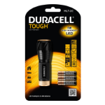 Duracell TOUGH TORCH MLT-2C Hand flashlight Black LED