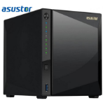 ASUSTOR 4-Bay NAS, Marvell Armada A7020 1.6GHz Dual-Core, 2GB DDR4, Gbe x2, 10G Base-T x1, WoL, hardware enc