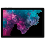 "Microsoft Surface Pro 6 256 GB 31.2 cm (12.3"") 8th gen Intel® Core™ i5 8 GB Wi-Fi 5 (802.11ac) Windows 10 Pro Black"