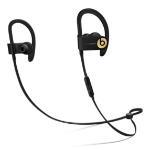 Apple Powerbeats3 Ear-hook,In-ear Binaural Wireless Black,Gold mobile headset