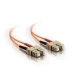 C2G 7m SC/SC LSZH Duplex 50/125 Multimode Fibre Patch Cable cable de fibra optica Naranja