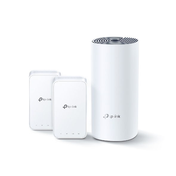 TP-LINK DECO E3(2-PACK) mesh wi-fi system Blanco Externo Doble banda (2,4 GHz / 5 GHz) Wi-Fi 5 (802.11ac)