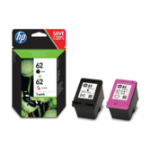 HP N9J71AE#301 (62) Printhead cartridge multi pack, 200pg + 165pg, Pack qty 2