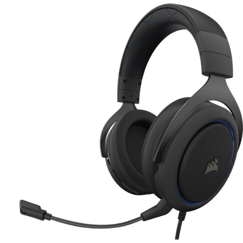 Corsair HS50 PRO STEREO headset Head-band Binaural Black,Blue
