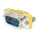 StarTech.com Cambiador de Género DB9 Serie Slimline - M/M