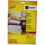 Avery L7163-40 White addressing label