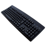 Accuratus KYBAC260-UBLKEURO USB QWERTY English Black keyboard
