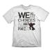 BIOSHOCK Men's Quote Vintage T-Shirt, Extra Large, White (GE1827XL)