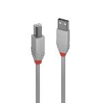 Lindy 36682 USB cable 1 m USB 2.0 USB A USB B Grey