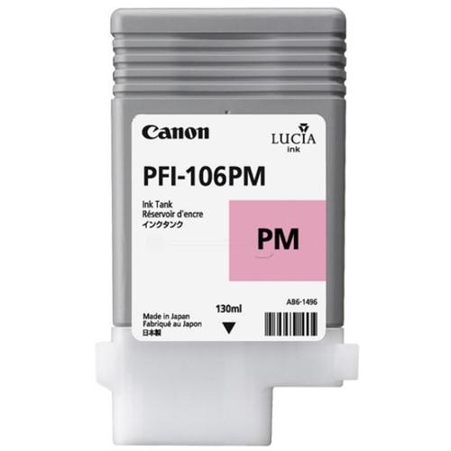 Canon 6626B001 (PFI-106 PM) Ink cartridge bright magenta, 130ml