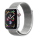 Apple Watch Series 4 reloj inteligente Plata OLED Móvil GPS (satélite)