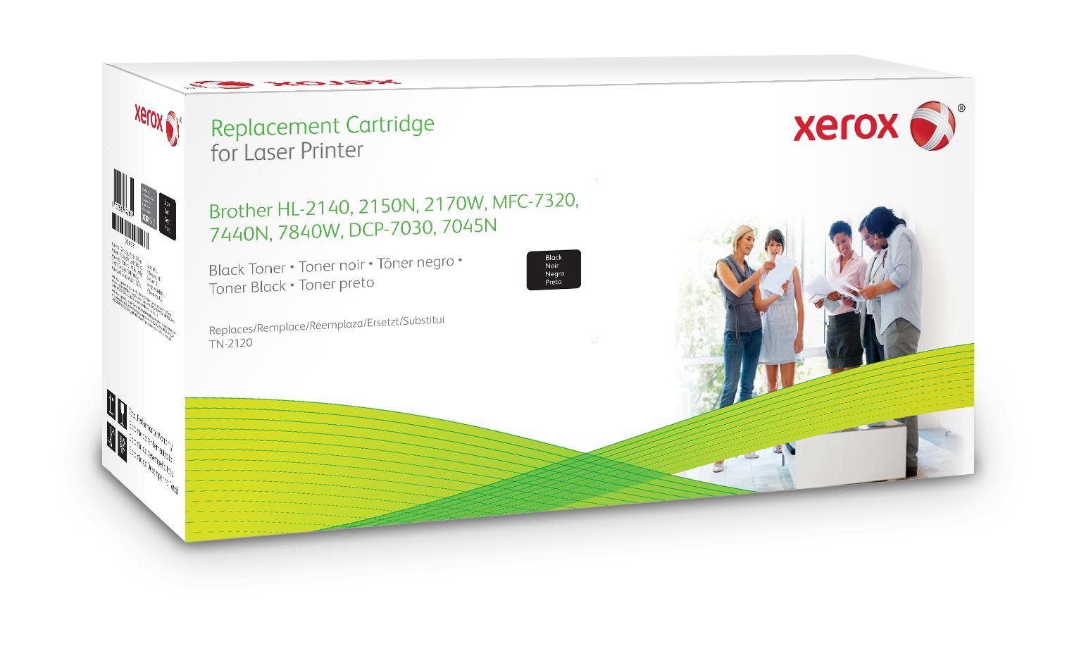 Xerox Cartucho De Tóner Negro. Equivalente A Brother Tn2120