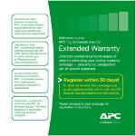 APC WBEXTWAR1YR-AC-01 warranty/support extension