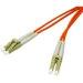 C2G LC/LC, 10m, 62.5/125 cable de fibra optica Naranja