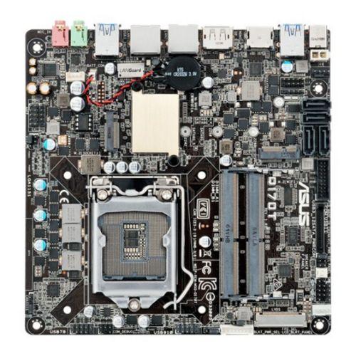 ASUS Q170T Intel Q170 1151 Thin Mini ITX DDR4 SODIMM M.2 Dual GB LAN HDMI DP DC Power
