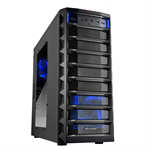 Sharkoon REX8 Value Midi-Tower Black computer case